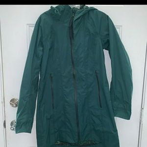 Lululemon Right As Rain Jacket Coat Size 6 Green